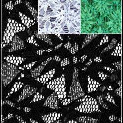 Arctic elastische Stickerei